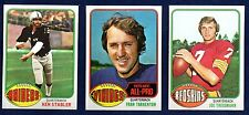 1976 Topps Football Finish Your Set Lot Pick 35 Cards Most NM Some Ex-Mt
