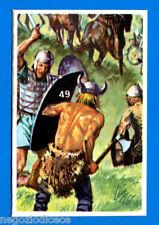BATTAGLIE STORICHE -Ed. Cox- Figurina/Sticker n. 49 - GUERRIERO GALLO -New