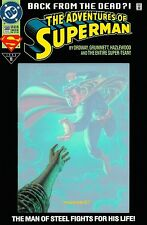 1993 ADVENTURES OF SUPERMAN #500 ~ SUPERMAN BACK FROM THE DEAD ~ 9.6 NM+ @LOOK@