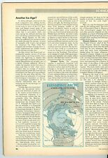 MAGAZINE TIME  CLIMATE CHANGE COOLING ANOTHER ICE AGE  1974