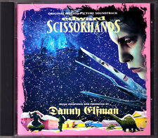 EDWARD SCISSORHANDS Danny Elfman Tom Jones OST CD mit den Scherenhänden MCA NEU
