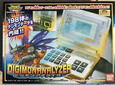 "Digimon Digivice Digimonanalyzer By BANDAI JAPAN ""Extremely Rare"" Made In 1999"