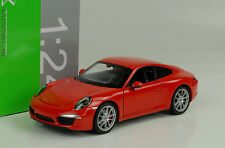 2013 Porsche 911 991 Carrera rot red 1:24 Welly