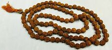 Genuine 108 Rudraksh Holy Prayer Mala Beads Buddhist meditation Hinduism Praying