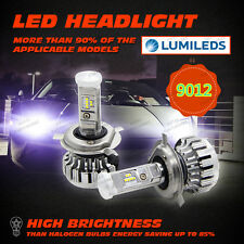 80W 16000LM LUMILEDS 9012 HIR2 Car LED Headlight Light Bulb Conversion Kit 6000K