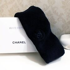 CHANEL Limited VIP Gift Black Sport/Salon/Spar Hairband/Headband