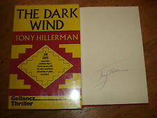 The Dark Wind [signed copy] Hillerman, Tony,HARDBACK.FIRST UK EDITION 1983