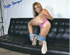 Hope Harper Adult Film Star Signed 8x10 Photo #32 Nubiles, Desperate Pleasures