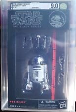 "Star Wars Black Series 6"" R2-D2 AFA 9.0 U 90 Uncirculated RARE MISB NEW US"