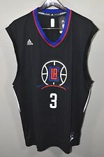 LA Clippers #3 Chris Paul Jersey XL Adidas Black NBA Basketball Los Angeles