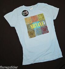 Nirvana Light blue Distressed Junior Women's XL NWT NEW 20th Nevermind