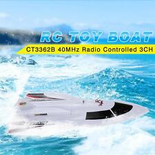 Create Toys CT3362B 40MHz 3CH RC Flying Fish 7.2V High Speed RC Boat O8L2