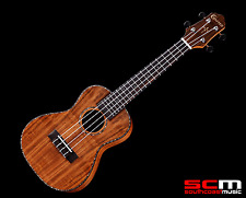BRAND NEW CRAFTER UC-7 ALL KOA CONCERT UKULELE WITH UKE GIG BAG with PRO SETUP
