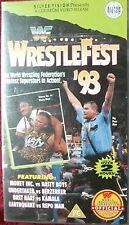 WWF Wrestlefest 1993 ORIG VHS WWE Wrestling deutsche Version