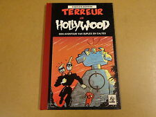 STRIP HARDCOVER 1° DRUK LOEMPIA / SUPLEX EN CALTEX - TERREUR IN HOLLYWOOD