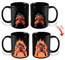 Dragon Ball Z Color Changing Ceramic Funny Coffee Mug Heat Sensitive Cup Novelty
