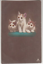 Button Eyes, glamour, cats, chats 1923