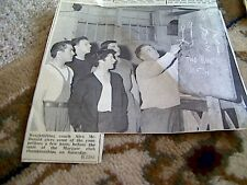 67-5 ephemera 1964 picture alex mcdonald weightlifting coach margate