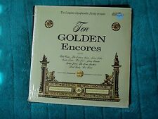 The Longines Symphonette Society Presents - Ten Golden Encores  US copy Rare EX