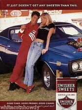 1972 DODGE CHARGER Blue Muscle Car 1999 Swisher Sweets AD