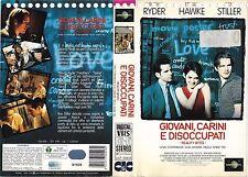 GIOVANI, CARINI E DISOCCUPATI (1994) vhs ex noleggio