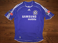 RARE Men's XL adidas CLIMACOOL Chelsea '07 FA Cup Final Robben #16 Soccer Jersey