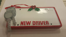 New Driver Personalized Christmas Tree Ornament Holiday