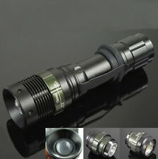 Bright CREE Q5 LED Lamp Flashlight Zoomable Zoom Torch 240 Lumens Light 3 Modes