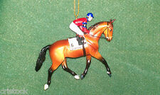 BREYER RACE HORSE CHRISTMAS ORNAMENT - CITATION - KENTUCKY DERBY--- NIB