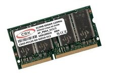 512mb RAM SDRAM pc133 Apple PowerBook g3 3,1 2000 2001 SODIMM csx marcas de almacenamiento