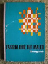 Farbenlehre für Maler - DDR Buch Licht Farben mischen Farbwirkung Farbgebung