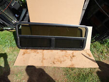 "RV Trailer Window, 60""X22"", Tinted, W/Screens, No Rings, Tinted, Crank,  #700"