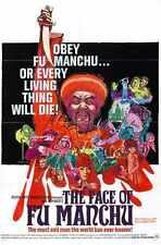 Face Of Fu Manchu Poster 01 Metal Sign A4 12x8 Aluminium