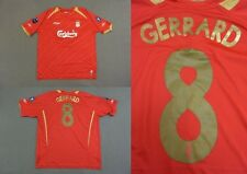 2005-06 REEBOK Liverpool FC GERRARD 8 Home Champions League Shirt SIZE XL