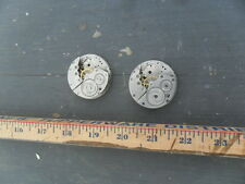 TWO NEW YORK STANDARD POCKET WATCH MOVEMENTS