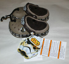 CROCS STAR WARS CHEWBACCA LINED YOUTH 10-11 NEW WITH TAGS FREE SHIPPING