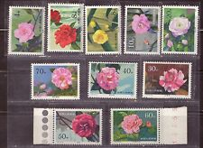 1979 China stamps, Camellias full set MNH, SG 2912-21