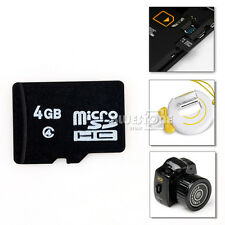 New 4GB Micro SD Card TF Flash Memory Card For Cameras or Mobile Phones