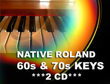 Roland Keyboard 60s & 70s CD from SR-JV80-08 expansion per XV 5080 Akai MPC-2000