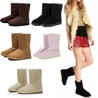 Girls Stylish 5 Colors & 5 Size Women Winter Warm Snow Boots Cute Ankle Shoes IT