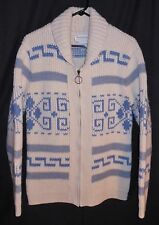 Vtg. 70's Pendleton Sweater Dude Big Lebowski Cowichan Wool Coat Jacket Medium