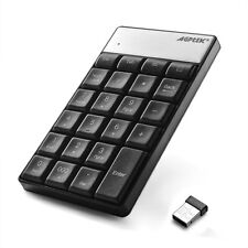 23 Keys Wireless Numeric Mini Keypad 2.4G Nano USB Receiver for iMac Macbook PC