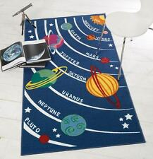 Matrix Kiddy Planets Solar System Kids / Childrens Play Rug 80x120cm