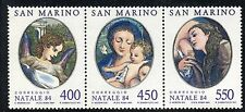 SAN MARINO 1984 NATALE/CHRISTMAS/PAINTINGS/CORREGGIO 16th CENTIRY ART MNH