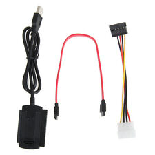 SATA/PATA/IDE Drive to USB 2.0 Adapter Cable for 2.5/3.5 Hard Drive
