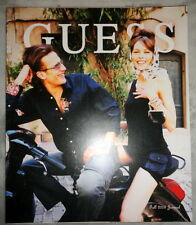Guess Fashion catalog 2003 Ellen von Umwerth Shannan Click Kids Landi Swanepoel