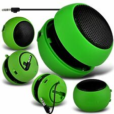 Green Portable Capsule Rechargeable Compact Speaker For Apple Iphone 6