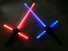 1 STAR WARS LIGHTSABER CROSS LIGHT SABER SWORD SOUND FX TOY BEST PRICE!!!