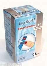 Test Strips Blood Cholesterol for EasyTouch - 1 box (10 Test Strips)