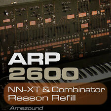 ARP 2600 REASON REFILL 412 COMBINATOR & NNXT PATCHES 3200 SAMPLES 24BIT QUALITY